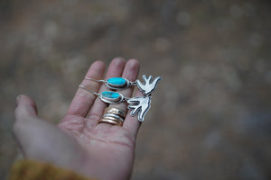 Sparrow Earrings.