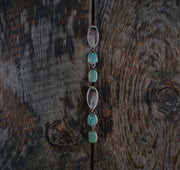 Cascade Earrings. Imperial Jasper