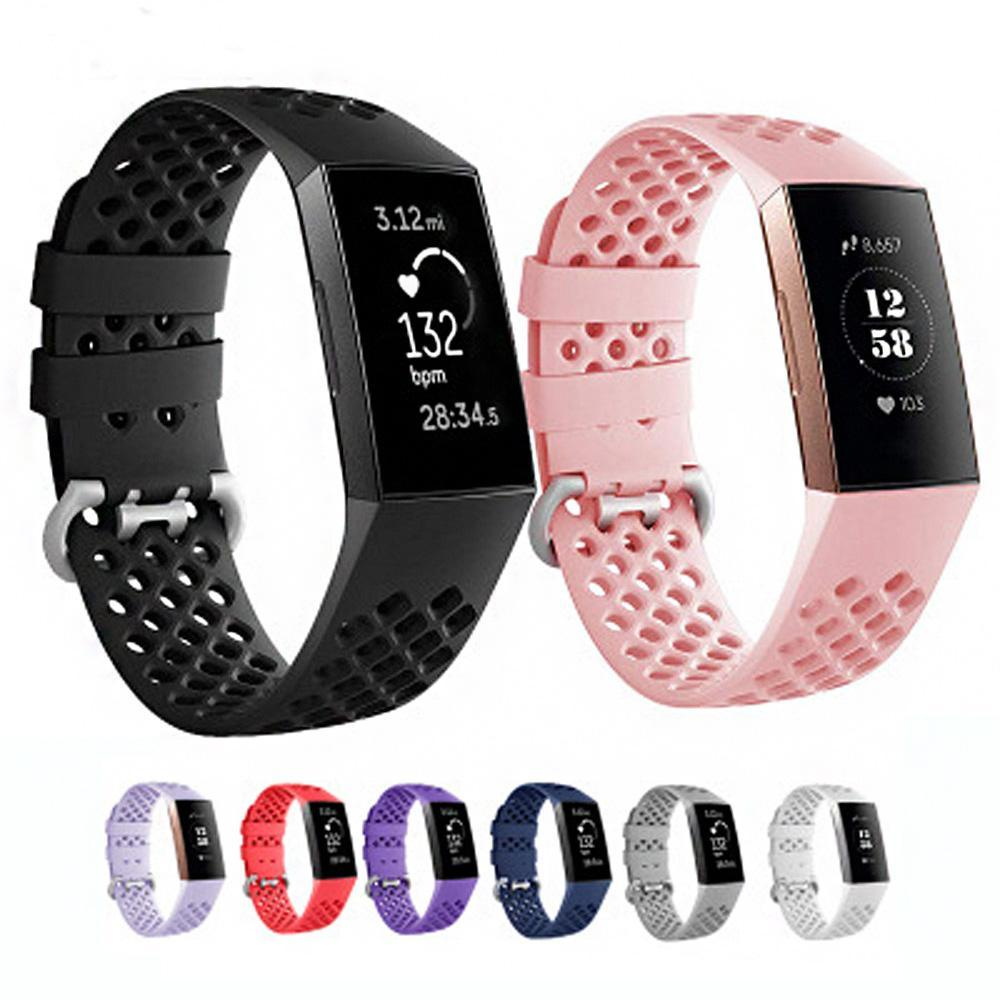 Breathable Silicone Fitbit Charge 3 Strap | Fitbit Charge 3 Strap | [option1]