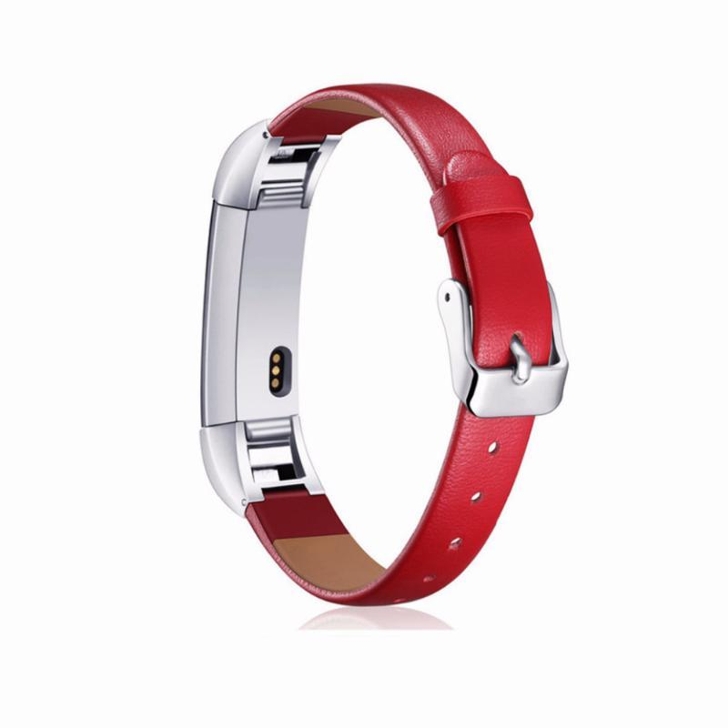 Handcrafted Leather Fitbit Alta/Alta HR Strap | Fitbit Alta | Red