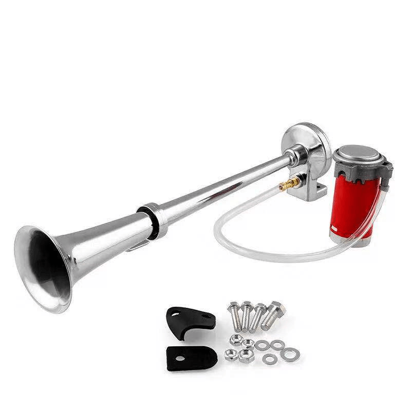 160 DB Train Horn with Air Compressor - Car Train Horn Kit
