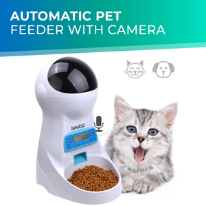 Automatic Pet Feeder with Camera