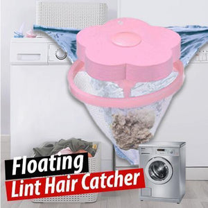 Floating Lint Hair Catcher | Hair Stoppers & Catchers | Pink