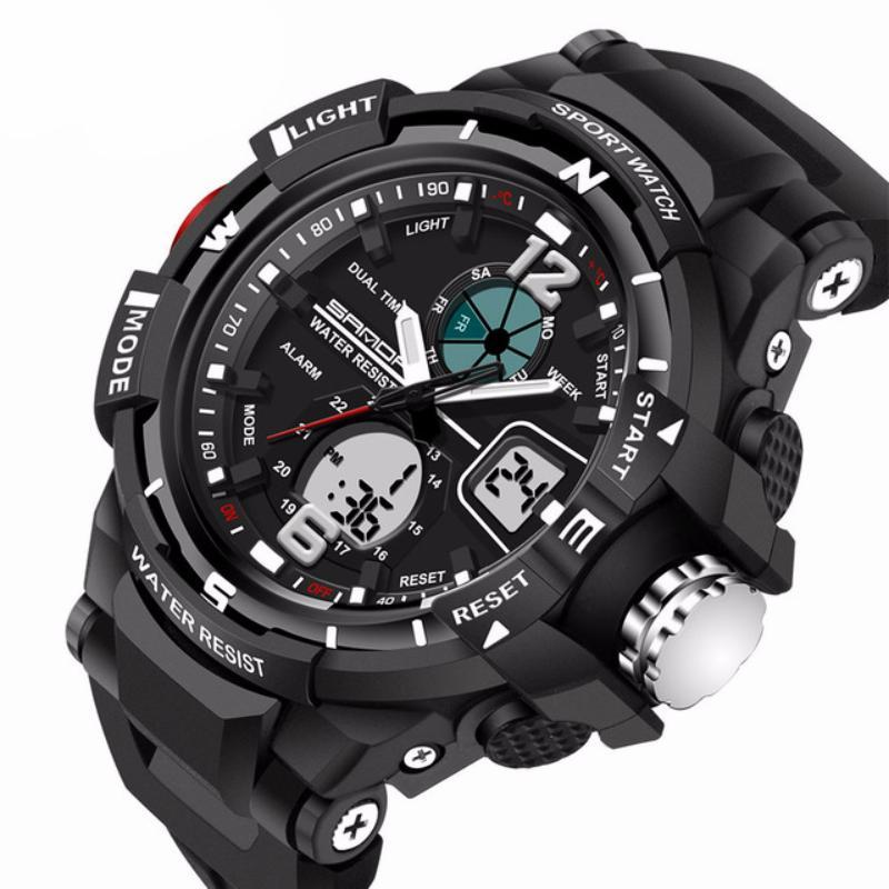 Mens LED Digital Sports Watch | Sports Watch | Black