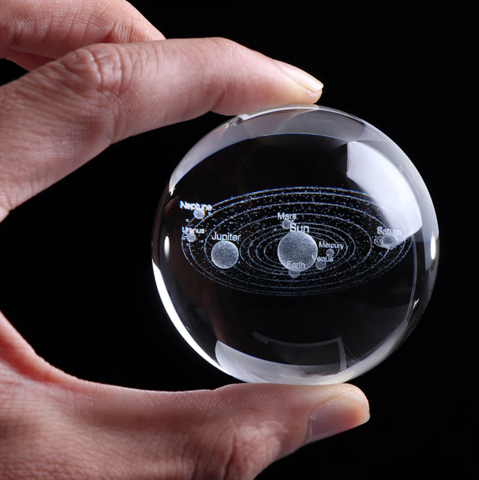 SOLAR SYSTEM CRYSTAL BALL | [product_type] | No Stand