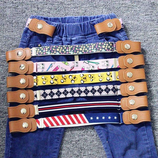Stretchable Elastic Belt for Jeans, Pants, Dresses