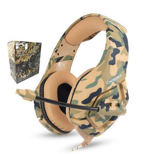 Fortmic Premium Fortnite Gaming Headset (PS4, XB1, PC) | Gadget | GREEN CAMO EDITION