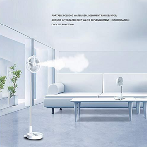 USB Eletric Fan - Humidifying Hydration Water Spray Fan