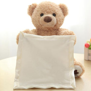 Peek-A-Boo Teddy Bear | Teddy Bear | [option1]