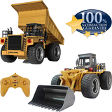 Present For Children's Day 50% OFF -  2020 New RC Construction Vehicles Bulldozer