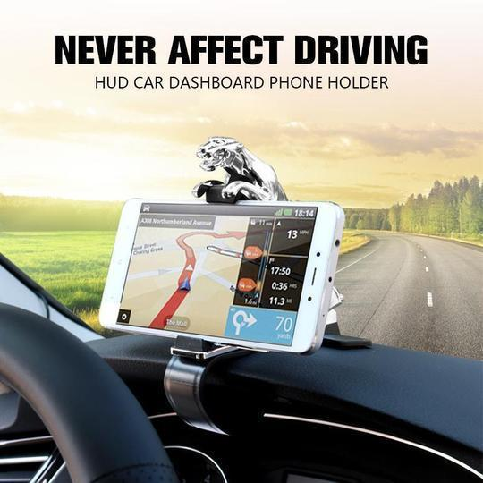 Jaguar Phone Holder - 360 Degree Car Dashboard Phone Holder