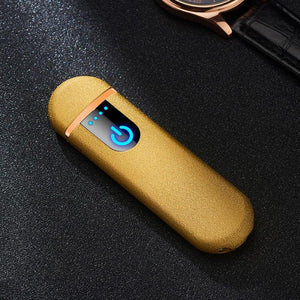 USB induction flameless lighter | [product_type] | Matte Yellow