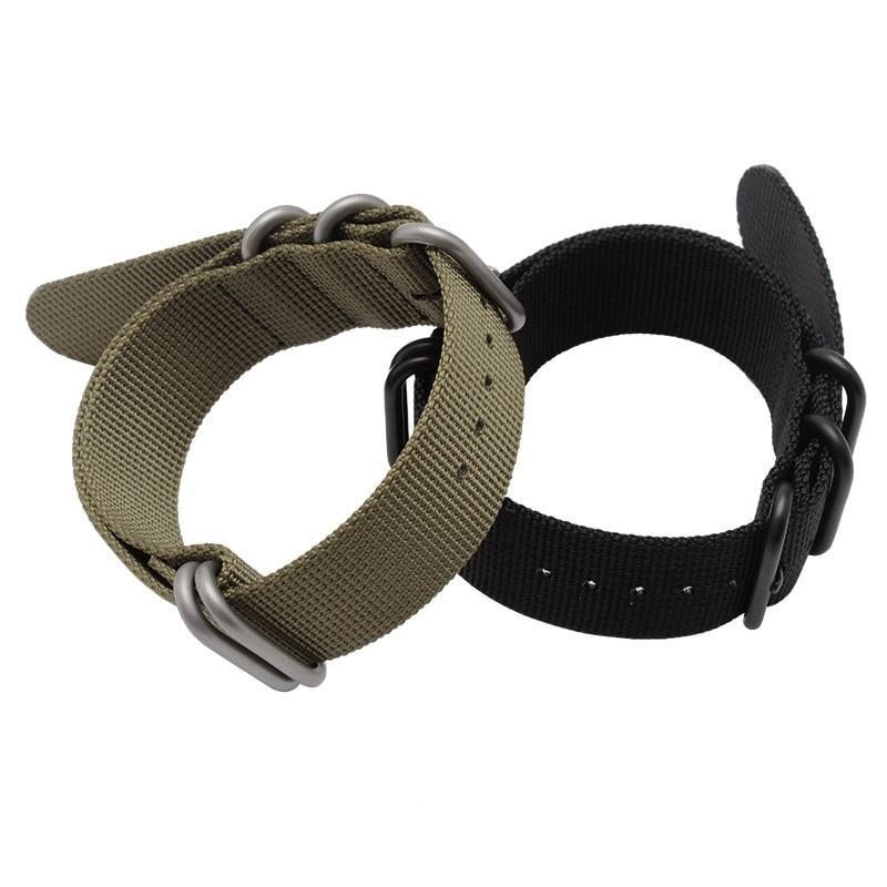5 Ring Nylon Garmin Fenix 3HR/5/5s/5x Strap | Garmin Watch Strap | [option1]