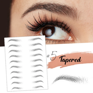 Instant Eyebrows - 4D Hair-Like Stick-On Eyebrows