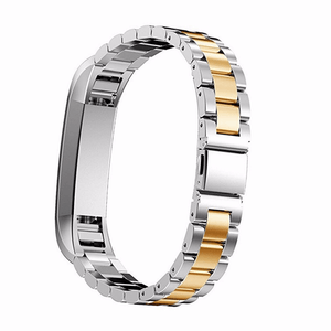 Stainless Steel Fitbit Alta/Alta HR Strap | Fitbit Alta | Silver/Gold