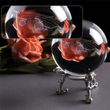 SOLAR SYSTEM CRYSTAL BALL | [product_type] | Silver Stand