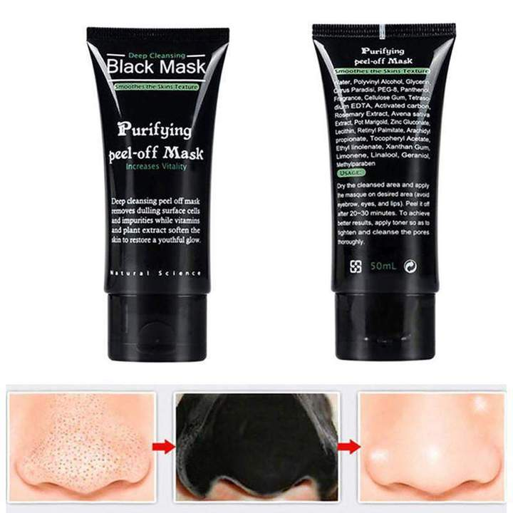 Peel Off Deep Cleansing Black Mask | Beauty | [option1]