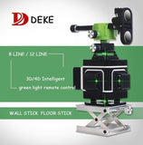 DEKE 3D Green Beam Laser Level