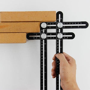 Folding Ruler Multi-Angle Measuring | Tools Special Offer | [option1]
