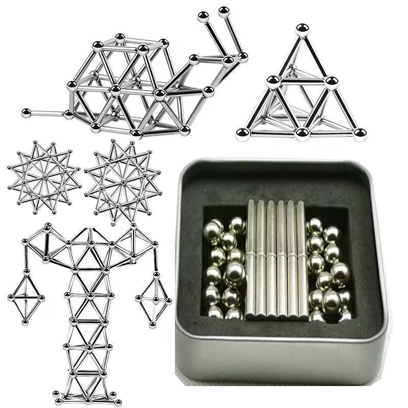 DIY Magnetic Sticks And Balls-40% OFF TODAY