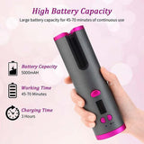 Automatic Rotating Travel Curling Iron