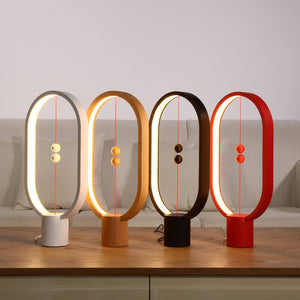 Heng Balance Ellipse magnetic mid-air Magnetic LED Lamp Indoor Night Light | Home & Kitchen | Wooden
