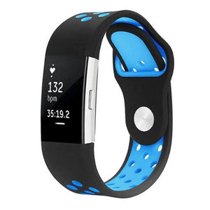 Sports Fitbit Charge 2 Strap | Fitbit Charge 2 | Black Blue