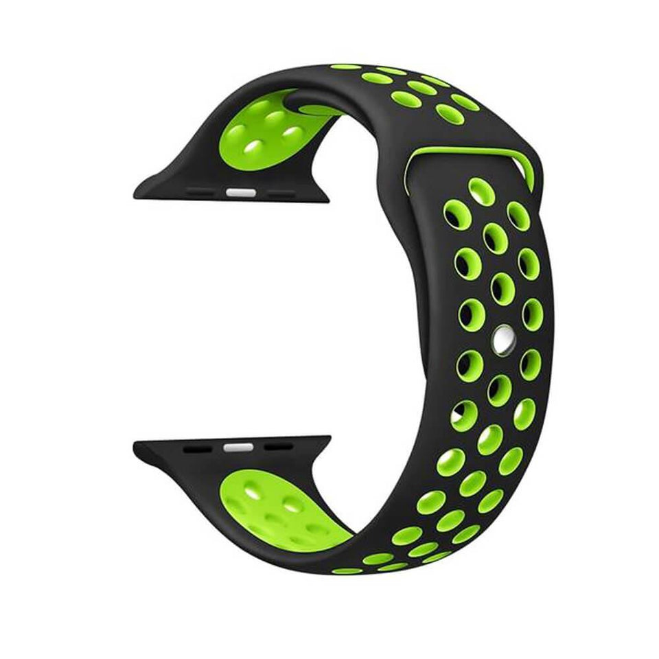Sports Apple Watch Strap | Apple Watch | Black Green
