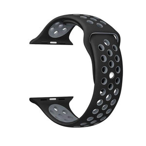 Sports Apple Watch Strap | Apple Watch | Black Grey