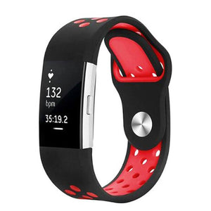 Sports Fitbit Charge 2 Strap | Fitbit Charge 2 | Black Red