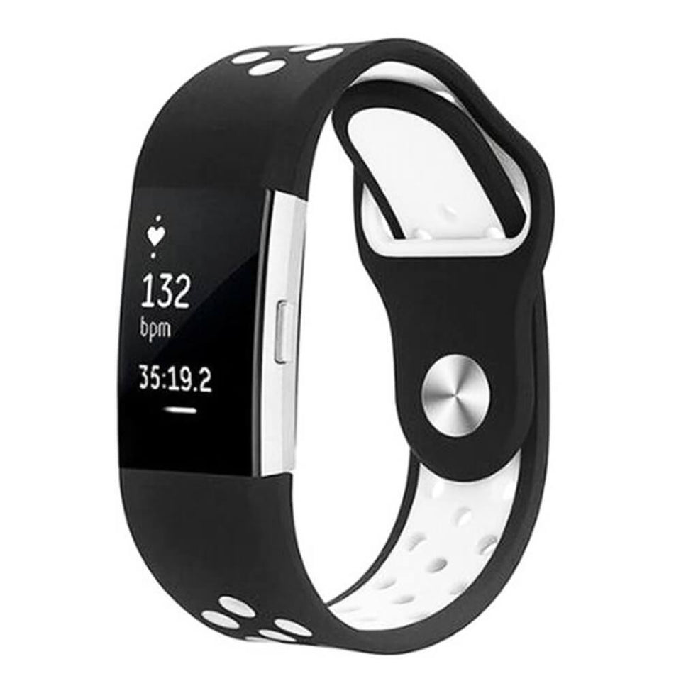 Sports Fitbit Charge 2 Strap | Fitbit Charge 2 | Black White