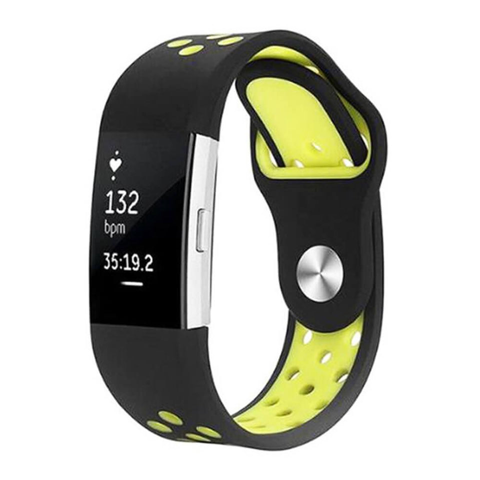 Sports Fitbit Charge 2 Strap | Fitbit Charge 2 | Black Yellow