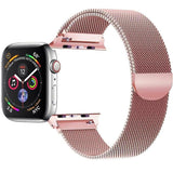 Milanese Stainless Steel Apple Watch (Series 4) Strap | Apple Watch | Rose Gold