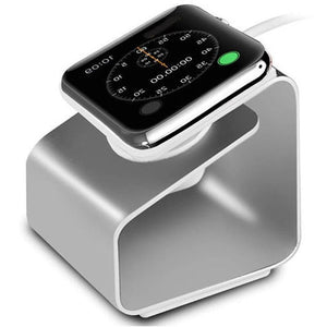 Apple Watch Docking Stand | Apple Watch Charger | Silver