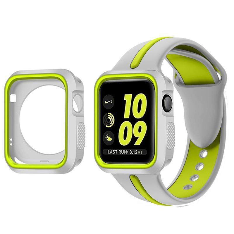 Sports 2 Tone With Case Apple Watch Strap | Apple Watch | [option1]