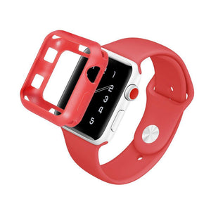 Colored Silicone Protective Apple Watch Case | Apple Watch Case | [option1]