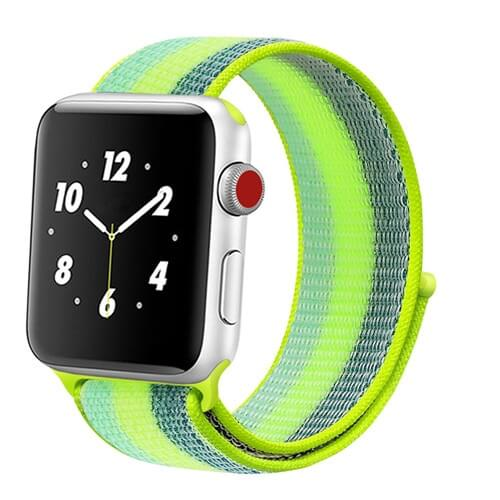 Apple Watch Straps | Woven Nylon Stripe | [product_type] | 38MM - 40MM