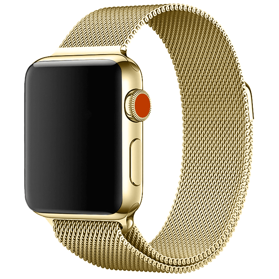 Milanese Stainless Steel Apple Watch Strap | Apple Watch | Gold