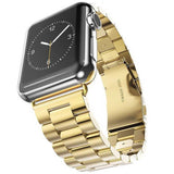 Stainless Steel Apple Watch Strap | Apple Watch | Gold