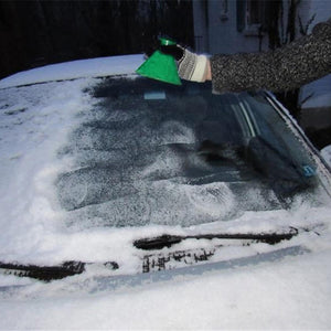 Scrape-a-Round Magic Cone-Shaped Windshield Ice Scraper & Funnel for Car | Gadget | [option1]