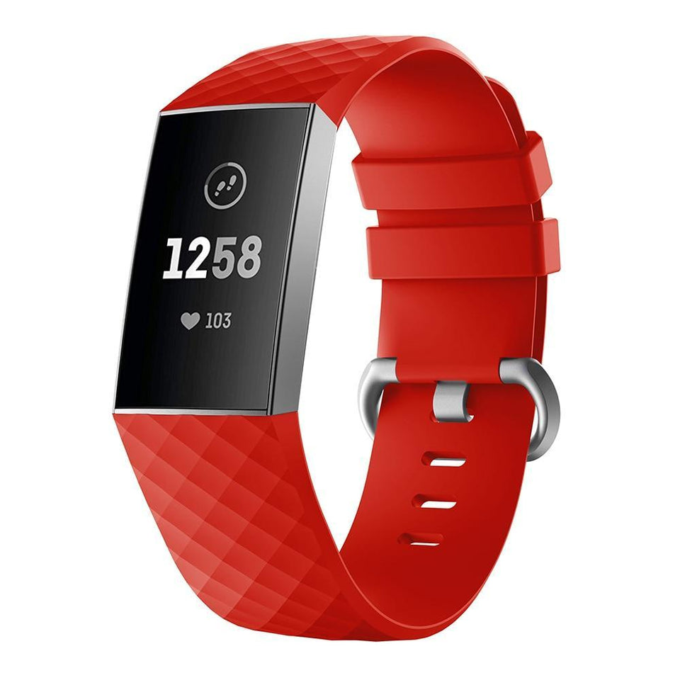 Silicone Sports Fitbit Charge 3 Strap | Fitbit Charge 3 Strap | [option1]