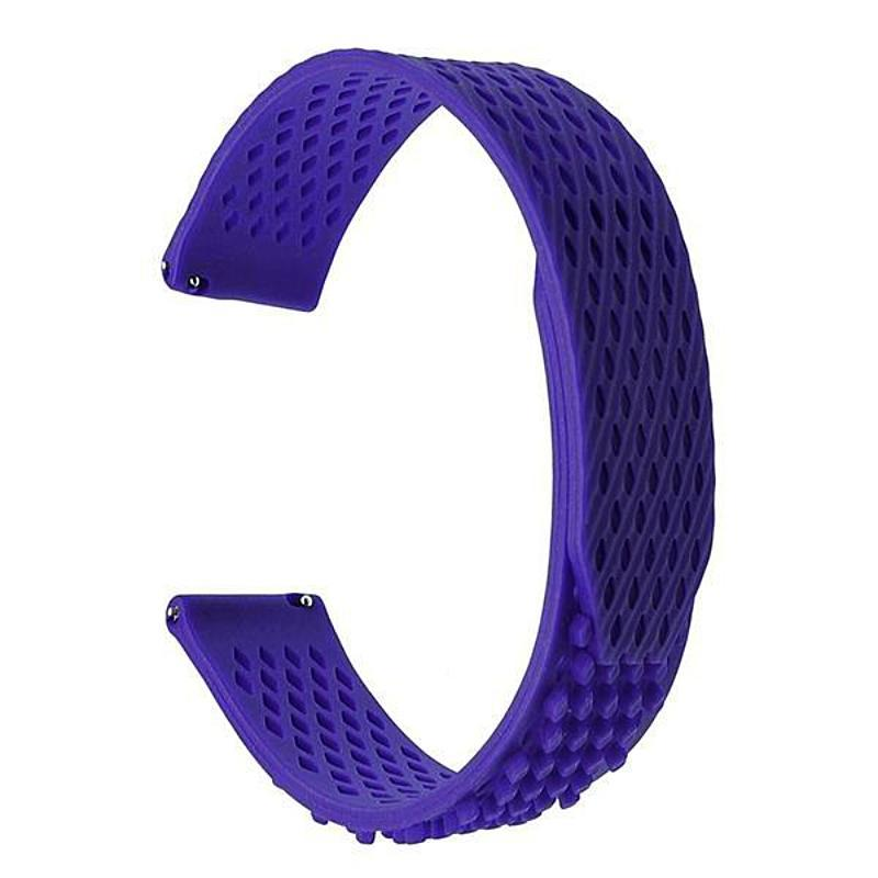 Quick Fasten Silicone Garmin Fenix 5/ Forerunner 935 / Epix Strap | Garmin Watch Strap | Light Blue
