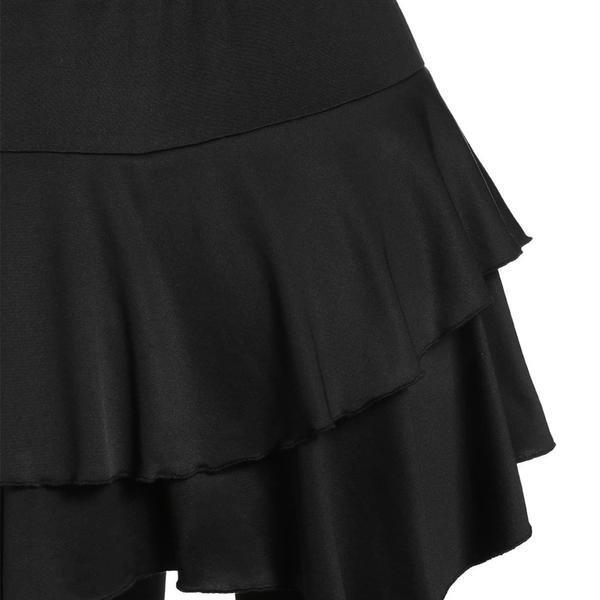 ShopNice Tiered Ruffle Skirted Legging