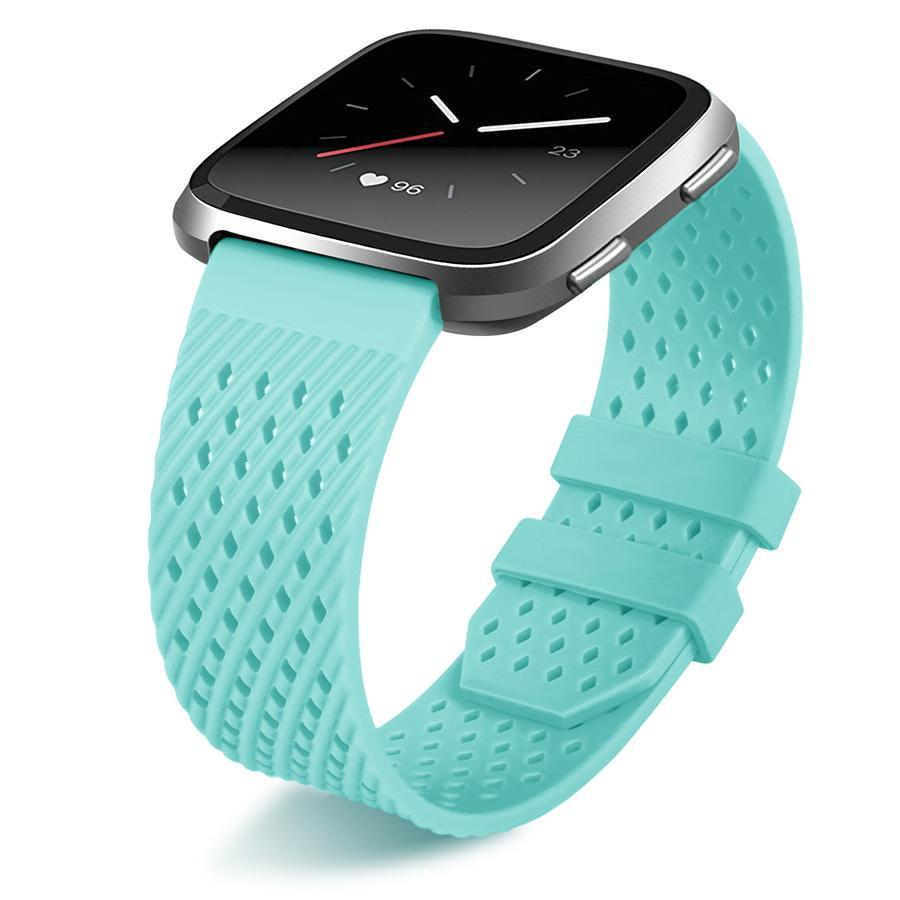 Breathable Silicone Fitbit Versa Strap | Fitbit Versa | Green