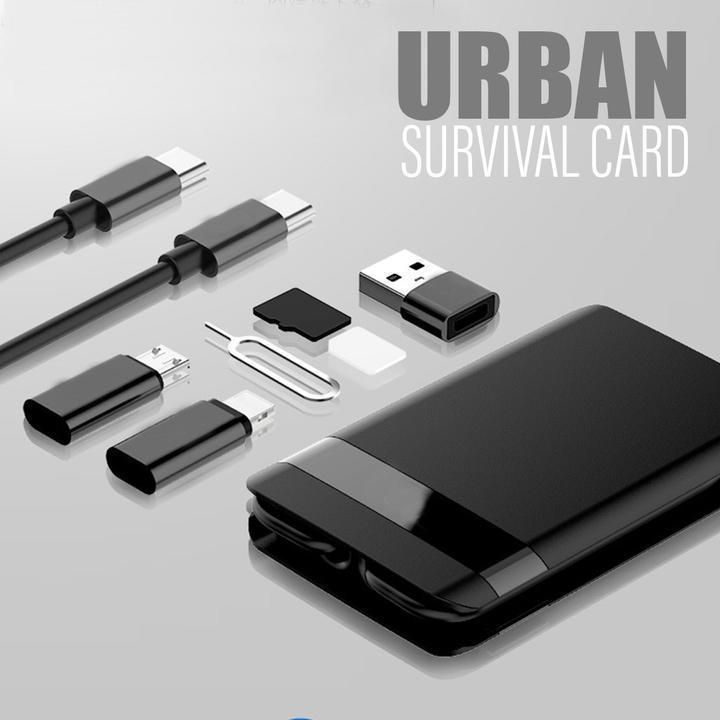 UrbzSurvival Multi-function Universal Smart Adaptor Card