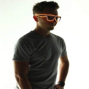 Light Up Glasses | Glasses | Orange