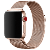 Milanese Stainless Steel Apple Watch Strap | Apple Watch | Light Gold