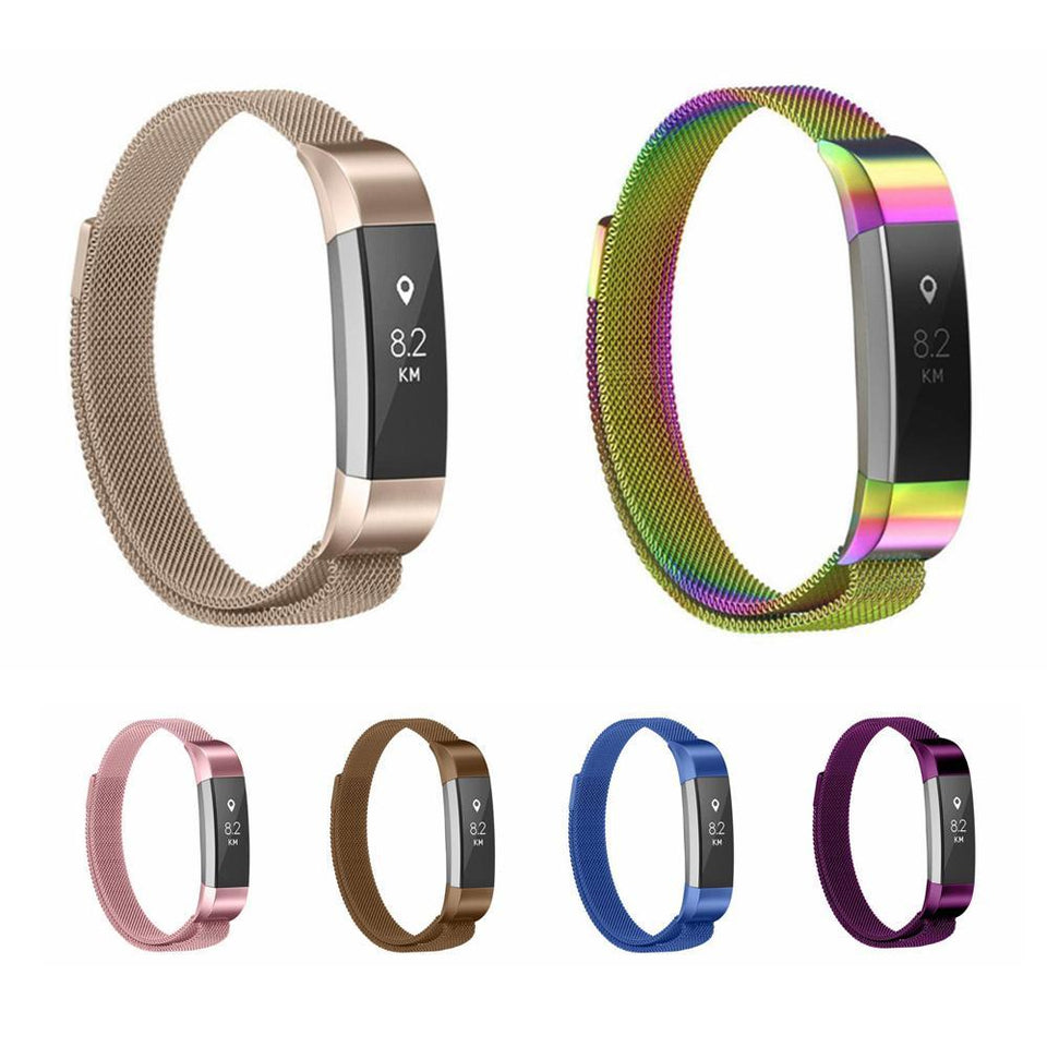 Milanese Colored Stainless Steel Fitbit Alta/Alta HR Strap | Fitbit Alta | [option1]
