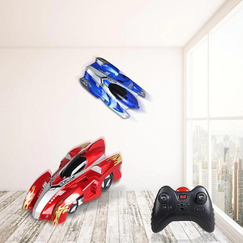 Remote control car that can climb the wall