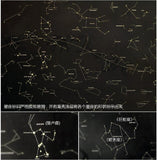 Constellation Star Map | Wall Stickers | [option1]